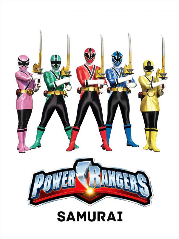 Affiche Power Rangers Samurai
