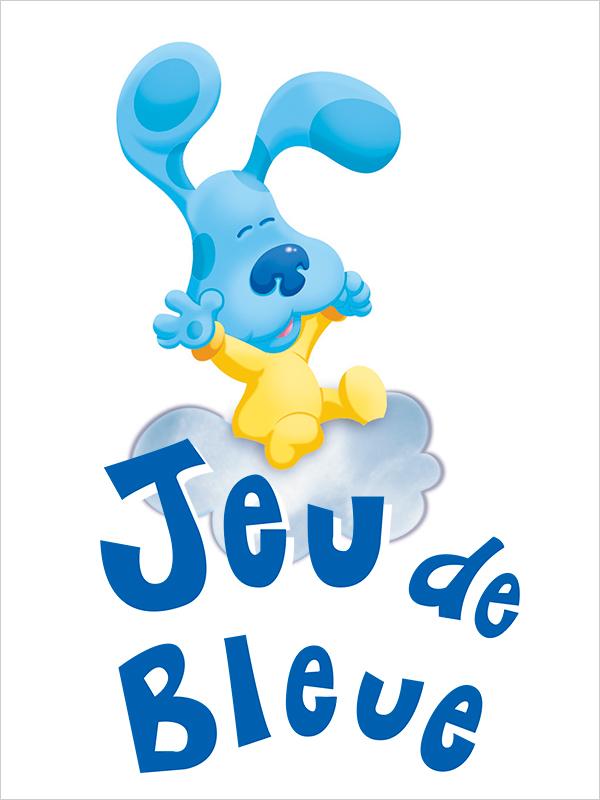 Affiche Jeu de bleue