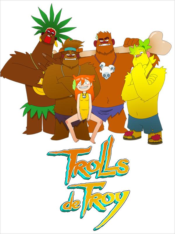 Affiche Trolls de Troy