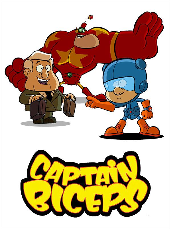 Affiche Captain Biceps