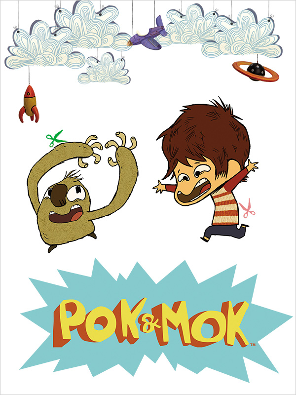 Affiche Pok et Mok