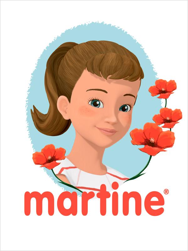 Affiche Martine