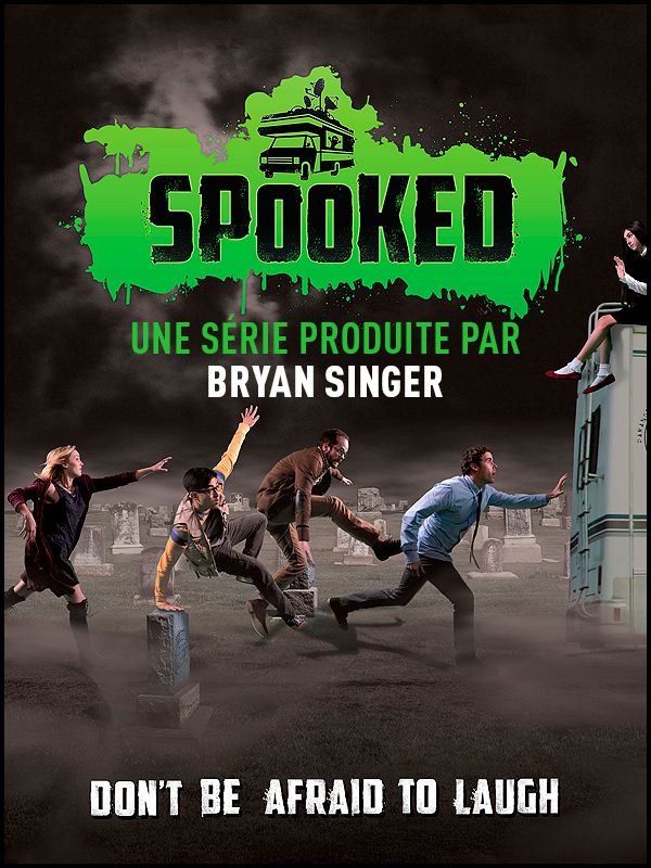 Affiche Spooked