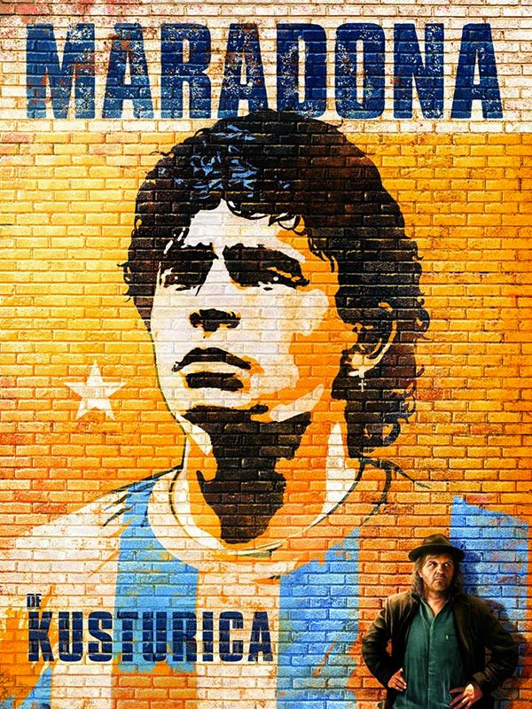 Affiche Maradona par Kusturica