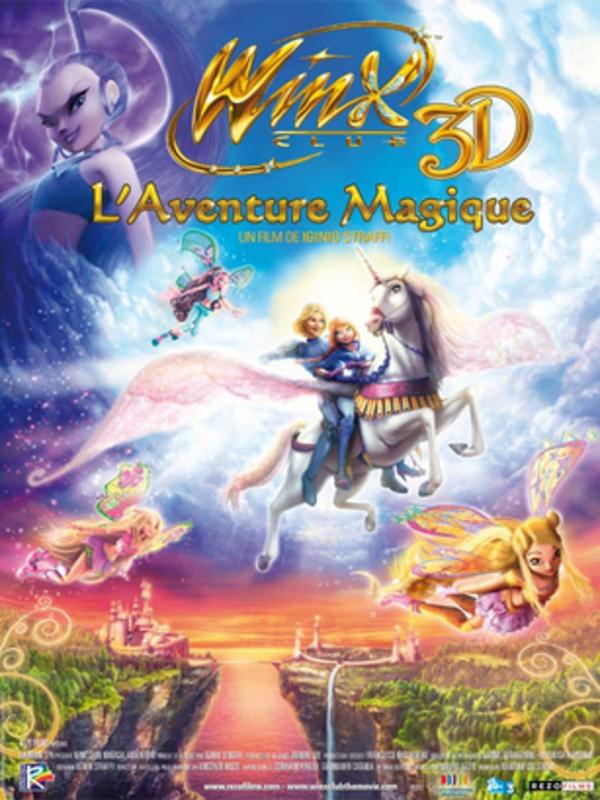 Affiche Winx Club, l'aventure magique