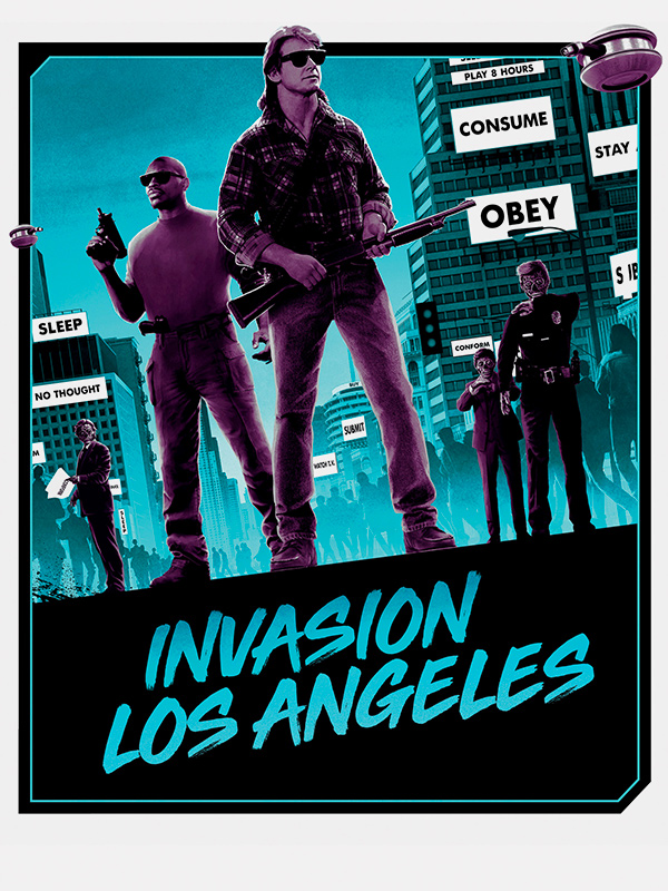 Affiche Invasion Los Angeles - They Live