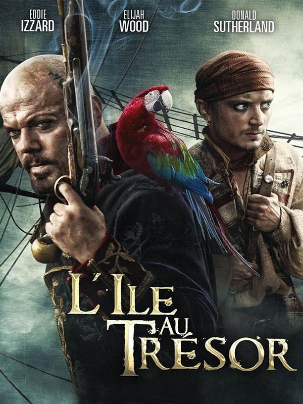 Affiche L'Ile au trésor