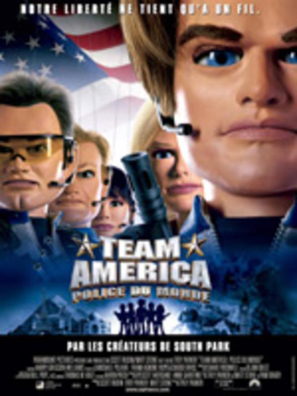 Affiche Team America, police du monde