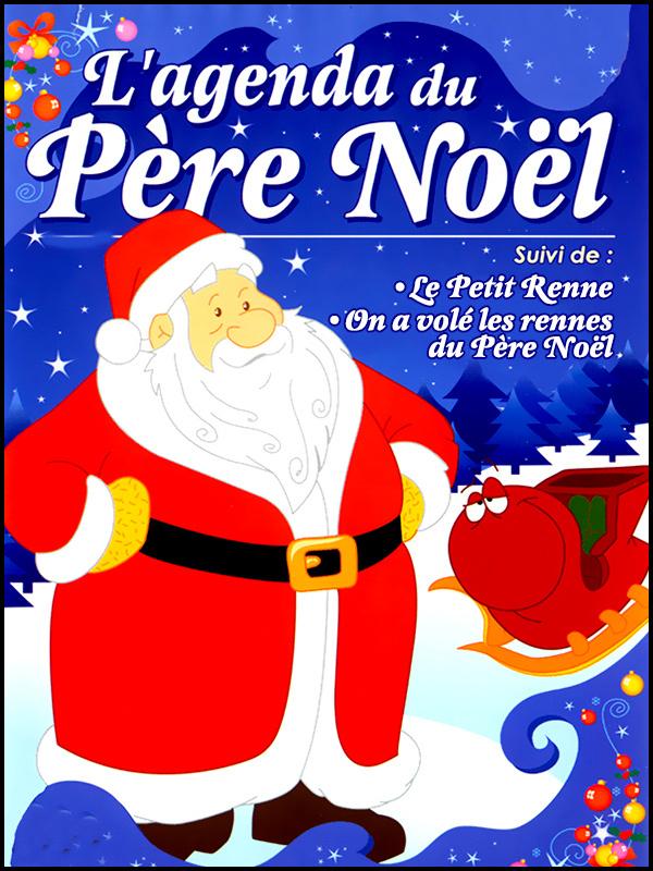Affiche L'agenda du Père Noël