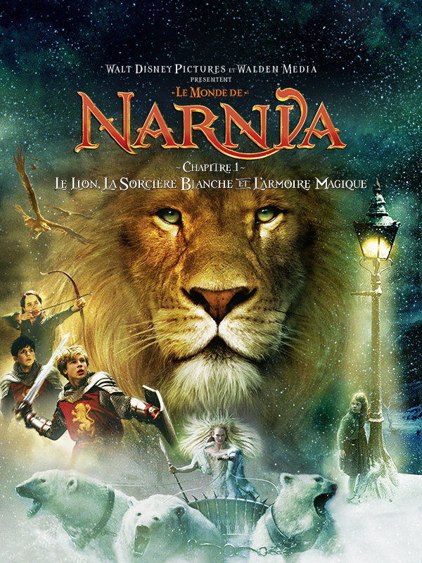 Affiche Le Monde de Narnia, chapitre 1 : le lion, la Sorcière blanche et l'armoire magique