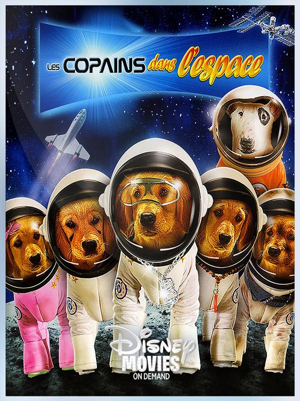 Affiche Les Copains dans l'espace