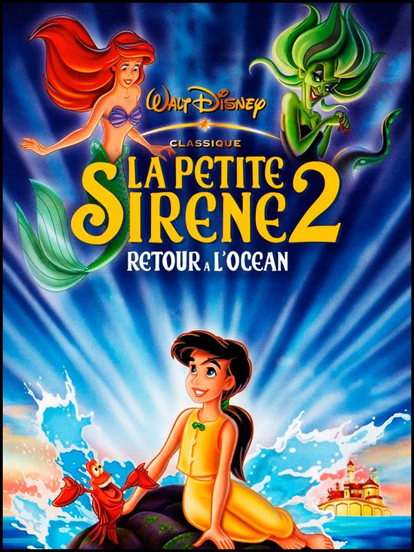 Affiche La Petite Sirène II : Retour à l'Océan