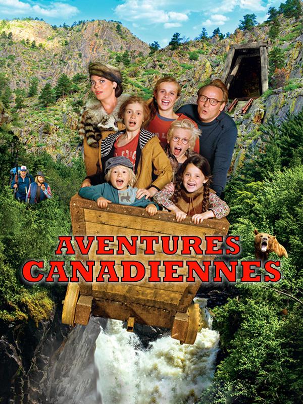 Affiche Aventures Canadiennes
