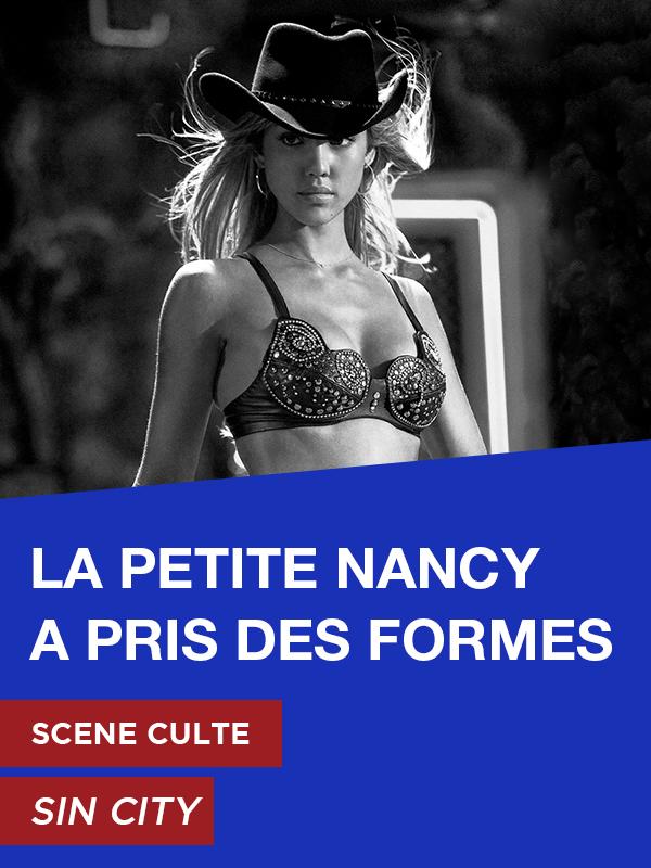 Affiche Scène Culte Sin City : La petite Nancy a pris des formes